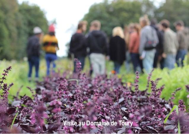Visite au Domaine de Toury