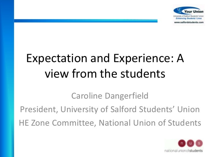 Discoveries involve experiences of expectation and