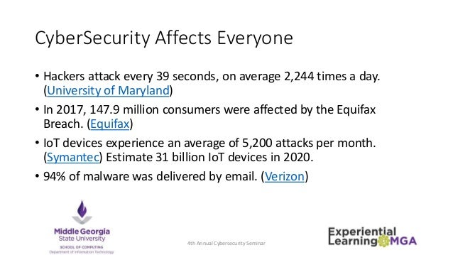The Future of Cybersecurity and You Slide 3
