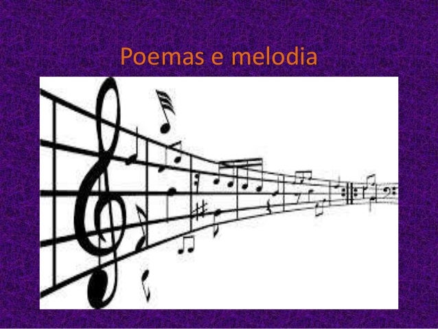 Poemas e melodia