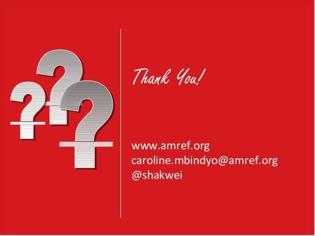 Distance Learning for Health Workshop: AMREF Kenya's e-Learning Nursi… slideshare - 웹