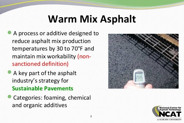 asphalt mixing process Currently exists in the hot mixture asphalt process this is a balance between a  low viscosity  made of conventional asphalt mixing plants and traditional paving .