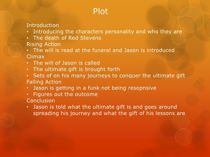 the ultimate gift plot