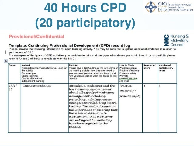 continuing professional development in nursing essay Background this paper presents a discussion related to the recent decision in australia to introduce mandatory continuing professional development (cpd) for nurses.