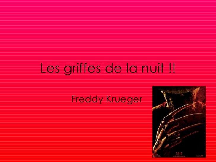 Les griffes de la nuit !! Freddy   Krueger