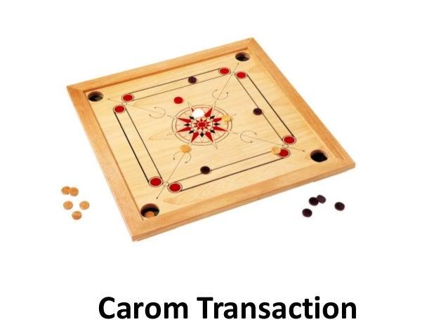 carom