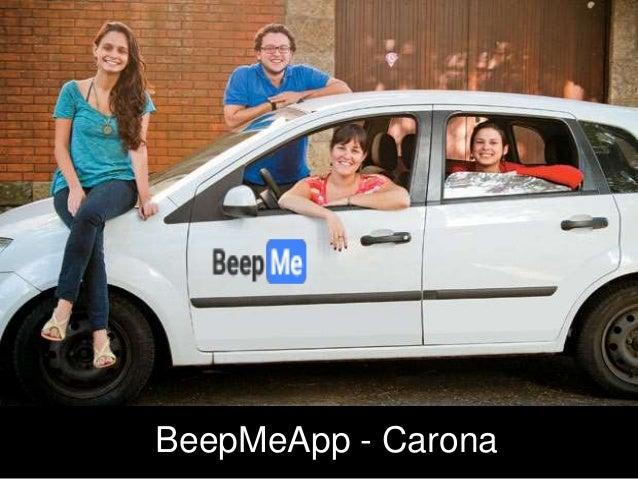 BeepMeApp - Carona