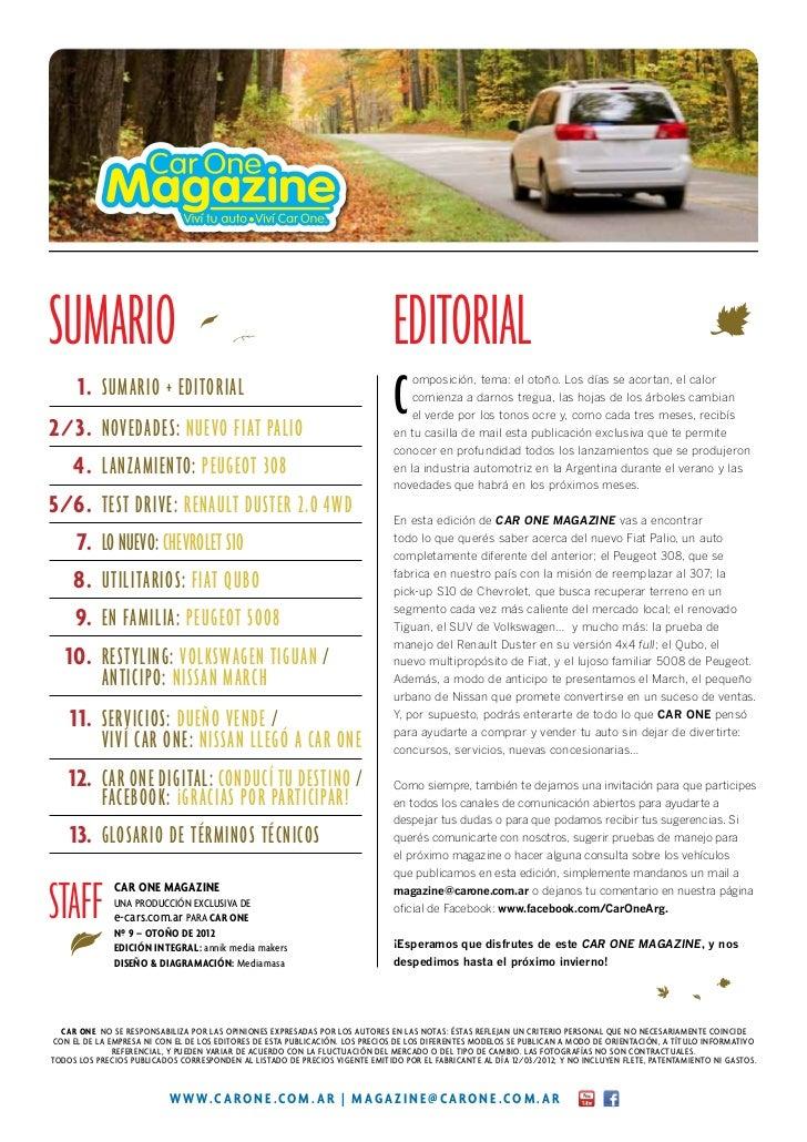 Sumario                                                                       Editorial 1. Sumario + editorial2 / 3. N...