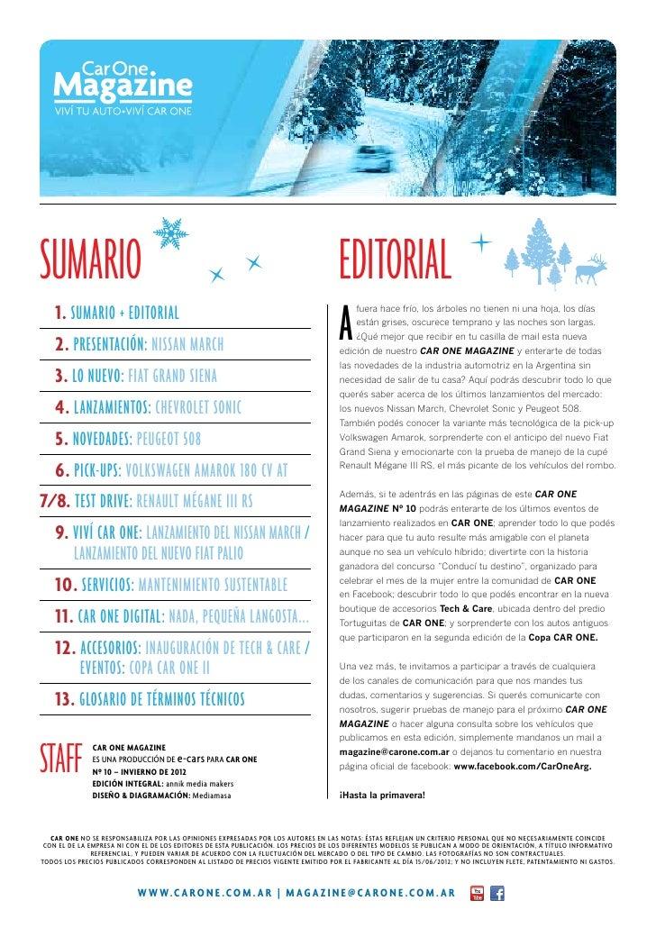 Sumario                                                                             Editorial  1 . SUMARIO + EDITORIAL   ...