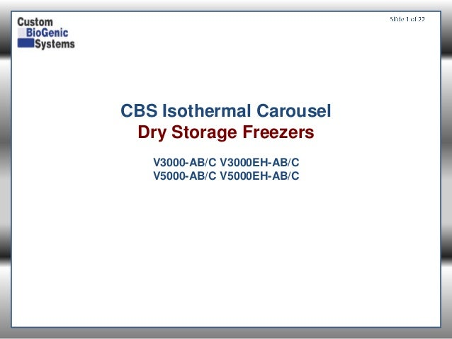 Isothermal Carousel LN2 Cryopreservation Freezers