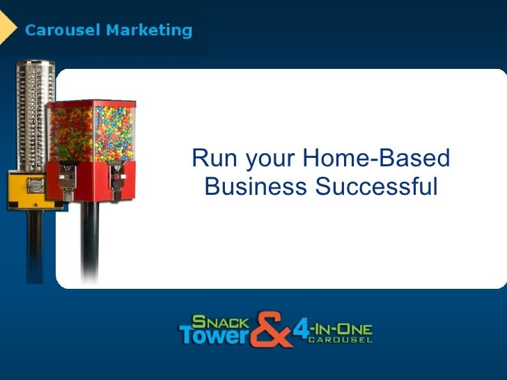 Home-Based Vending Machine Business