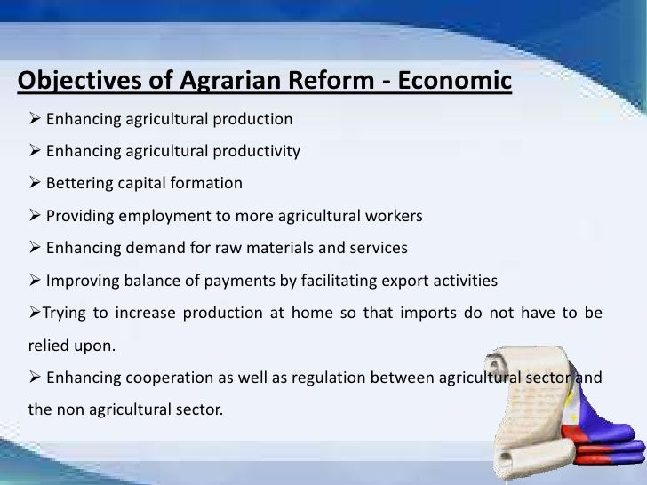comprehensive agrarian reform program reaction Read the latest rappler news articles about comprehensive agrarian reform program rappler stories provide perspective, inspire community engagement, smart conversations & action for social.
