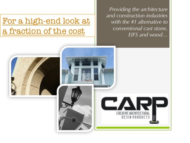 creative architectural resin products inc carp usa