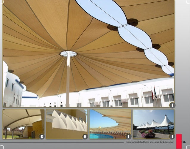 Latest Tensile Shade Designs From Bait Al Nokhada Tents