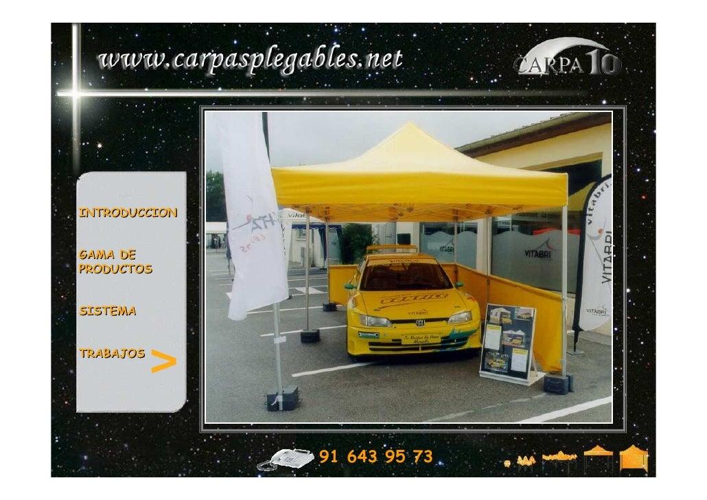 Carpas coches carpas para exposici n de coches for Carpas para coches