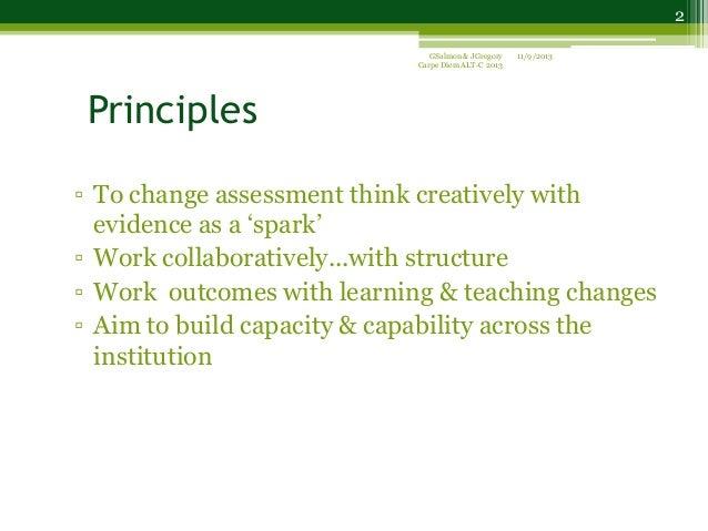 Carpe Diem for ALT Conference 2013 Slide 2