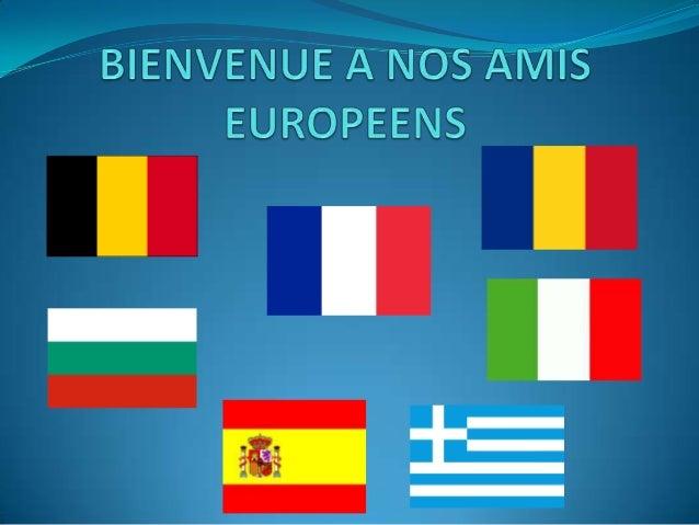 ComeniusQuand l'école s'ouvre à l'Europe     Sur les traces de notre héritage culturel en Europe          Projet Comenius ...