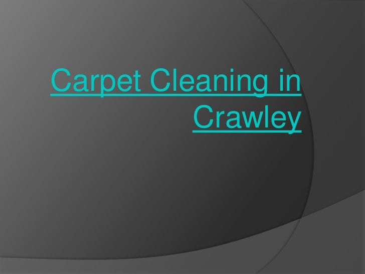 Carpet Cleaning in          Crawley