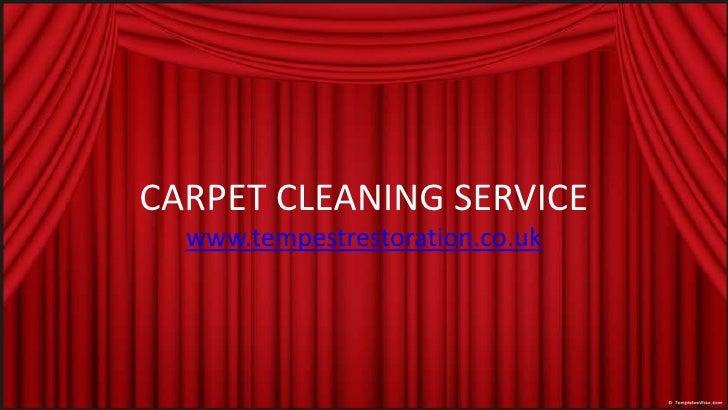 CARPET CLEANING SERVICE<br />www.tempestrestoration.co.uk<br />