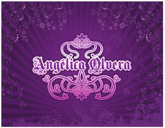 CURRICULUM VITAEDATOS PERSONALES                     Nombre:      Angélica Olvera Herrera Lugar y fecha de nacimiento:    ...