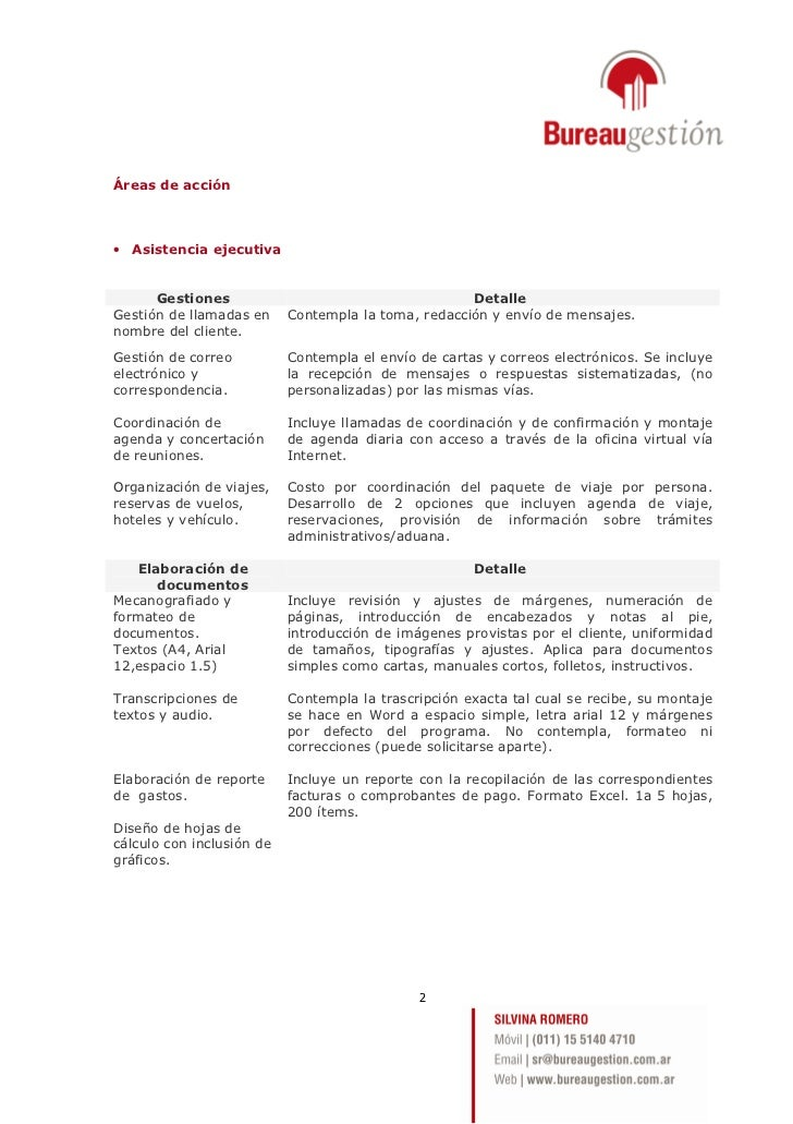 Presentación Bureau Gestión Slide 2