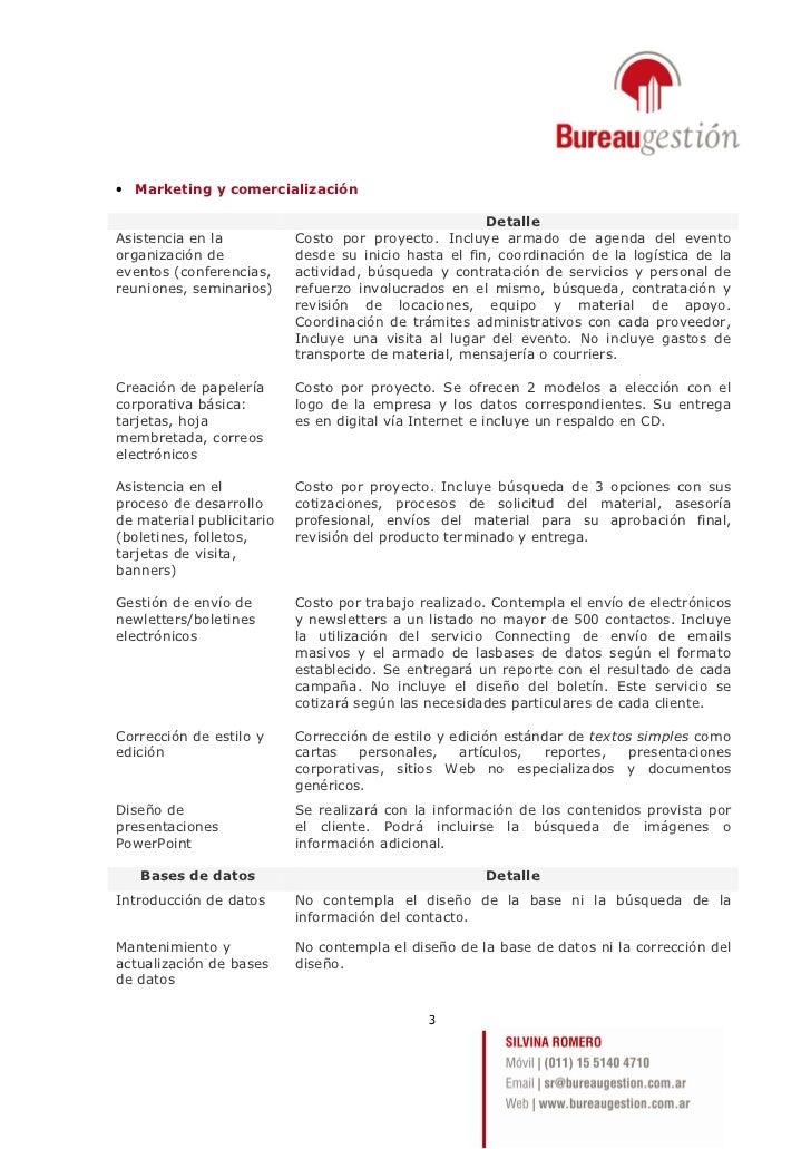 Presentación Bureau Gestión Slide 3