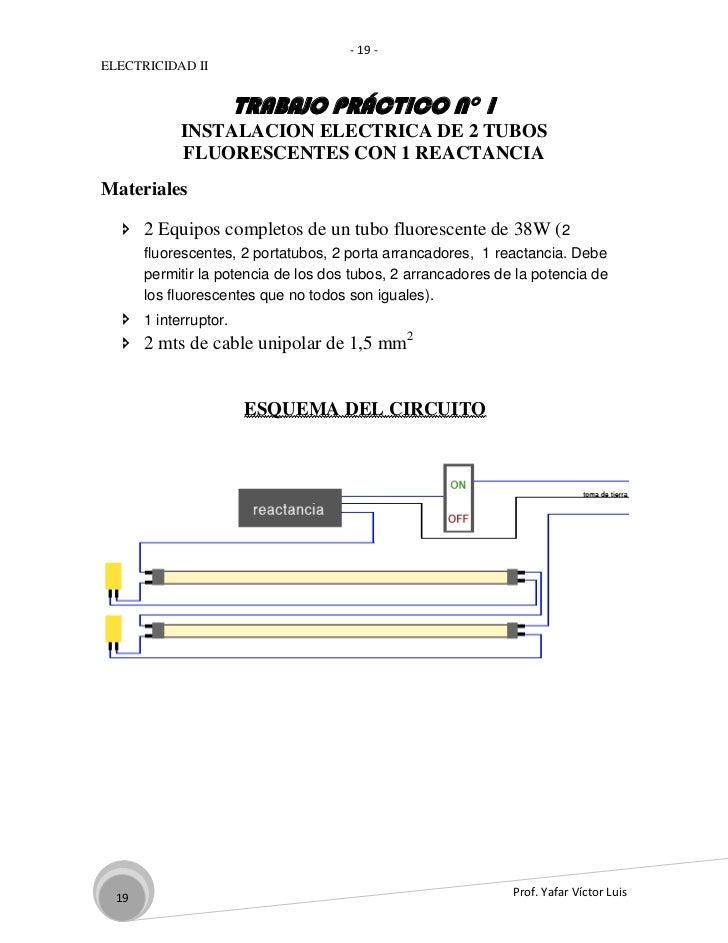Carpeta de electricidad 2 for Porta tubos fluorescentes