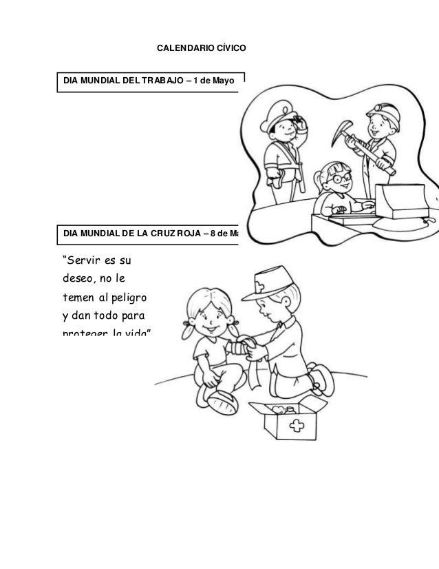 Dibujos Para Colorear Del Dia Internacional De La Cruz Roja