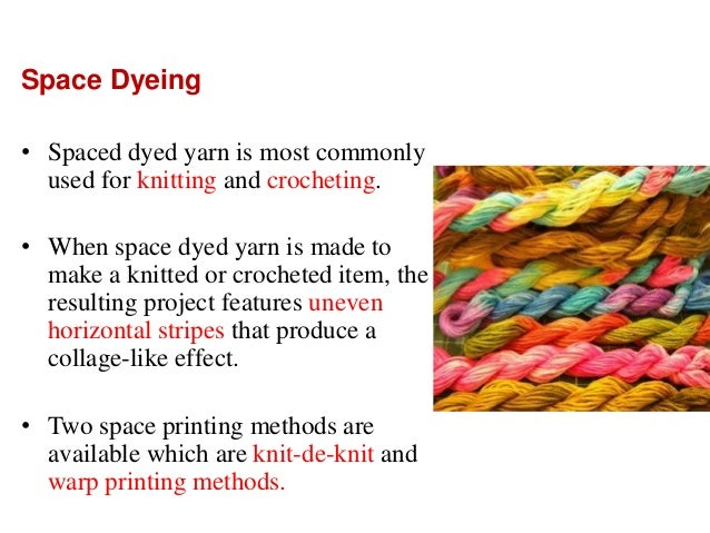 Knit Fabric Dyeing Process Pdf : Yarn and carpet printing