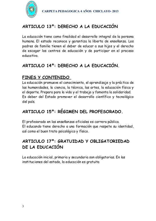 Carpeta pedagogica inicial 3, 4 y 5 años Slide 3