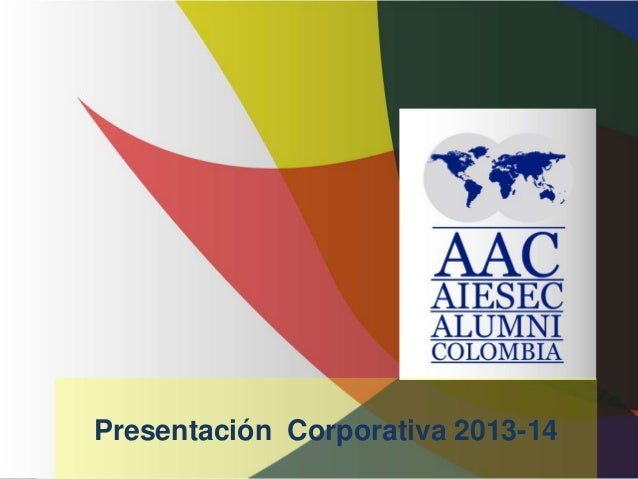 Presentación Corporativa 2013-14