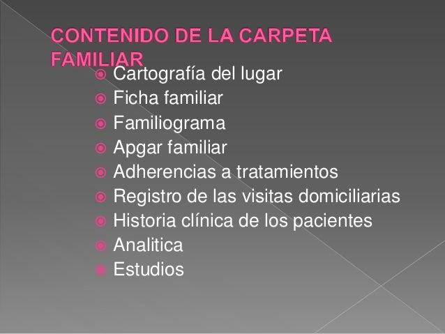 CARPETA Y FICHA FAMILIAR Slide 3