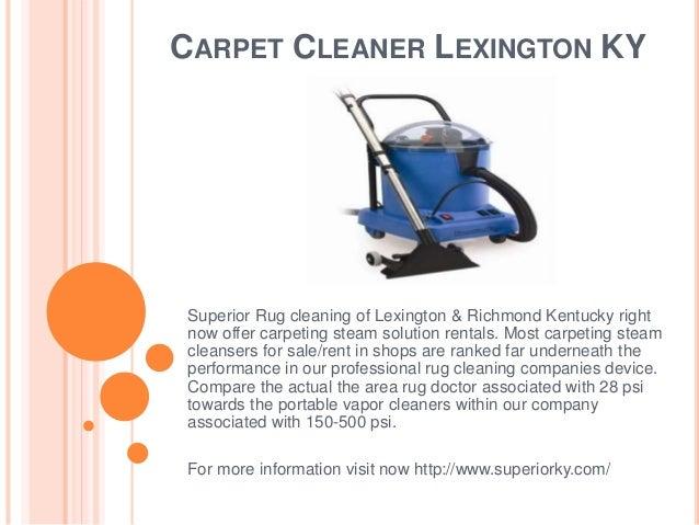 Carpet Cleaner Richmond Ky