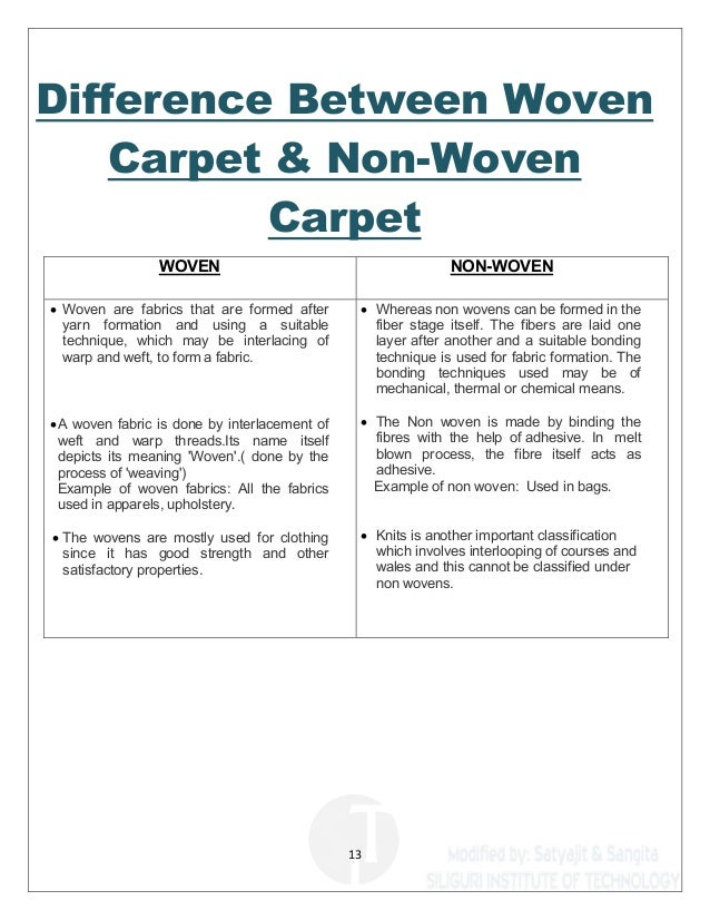 ... Turkish Carpet; 13. 13 Difference Between Woven ...