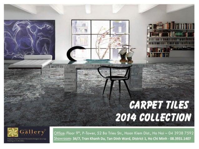 Carpet tile collection 2014