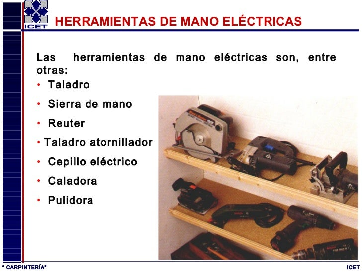 Carpinter a - Materiales de carpinteria ...