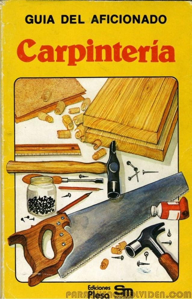 Carpintería aficion