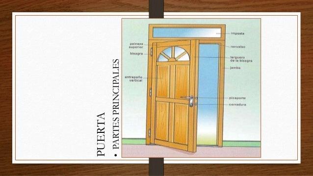 Carpinter a de madera y metal for Puertas que abren hacia afuera