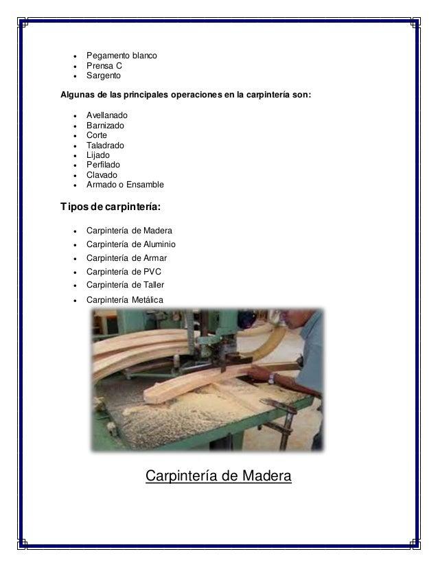 Carpinter a de madera y aluminio for Carpinteria de puertas de madera