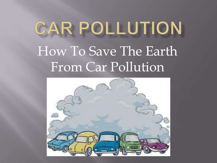 how to save earth from pollution