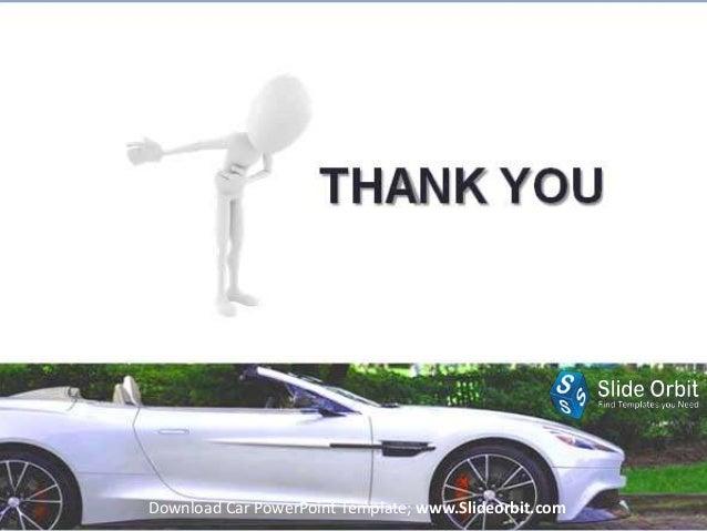 Car Power Point Template