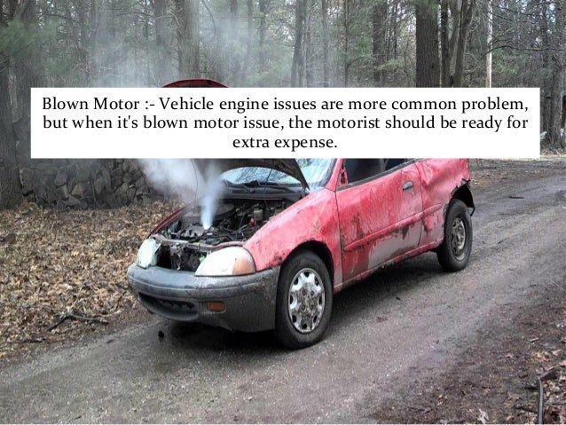 car problem and issues