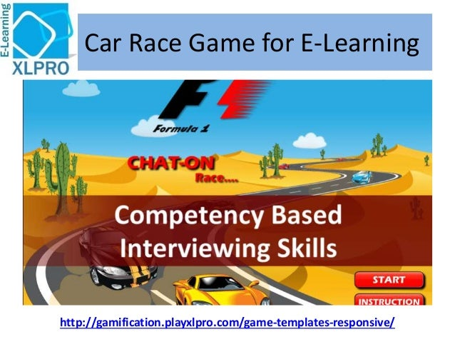 Car Race Game for E-Learning http://gamification.playxlpro.com/game-templates-responsive/