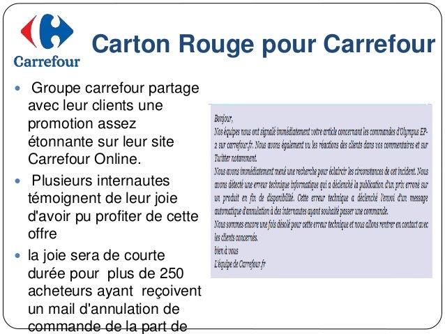 Strategie Digitale De Groupe Carrefour
