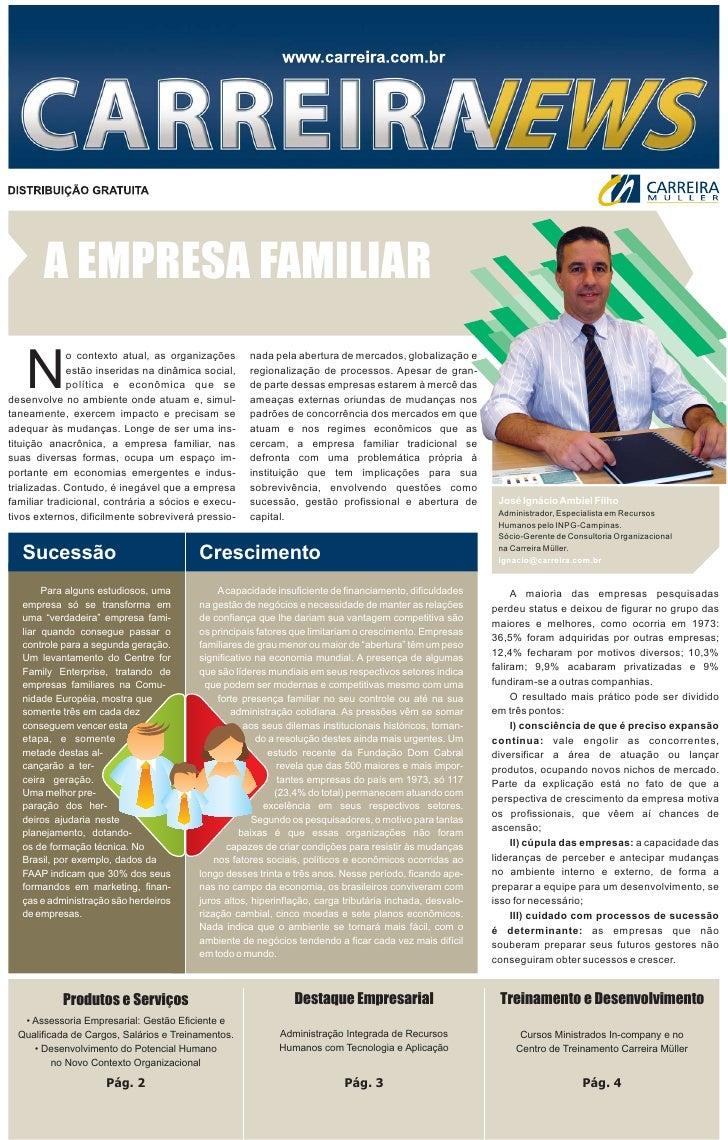 Carreira News - Edição 10