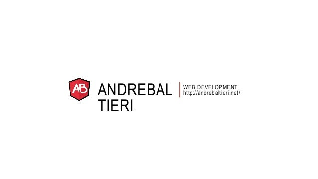 ANDREBAL  TIERI  WEB DEVELOPMENT  http://andrebaltieri.net/