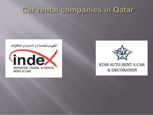 Car rental companies in qatar Slide 3