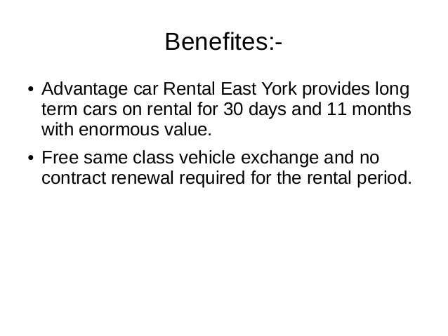 Advantage Car Rental Com