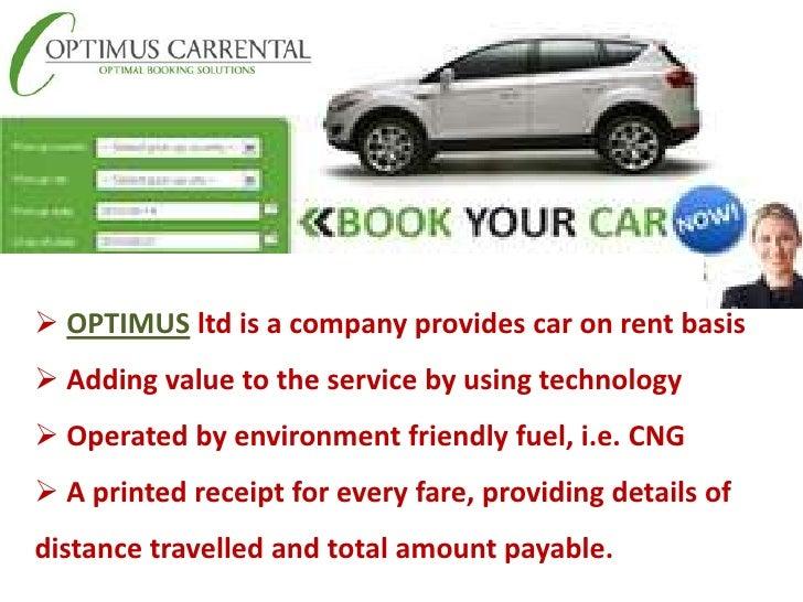 Car hire business plan download