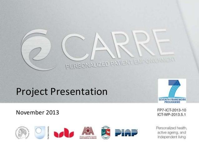 Project Presentation November 2013